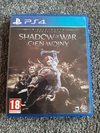 Gra  Shadow of War Cień Wojny na ps4