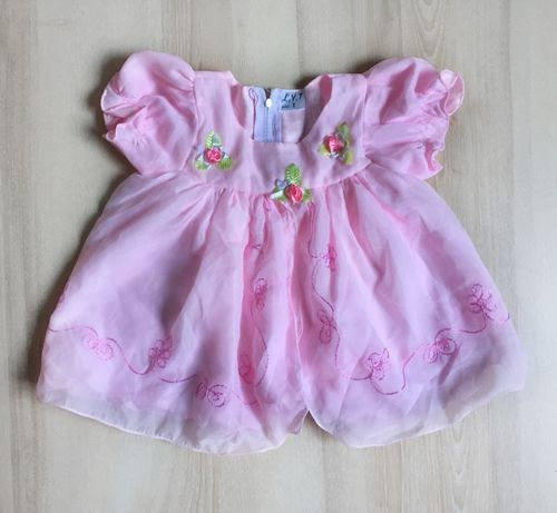 Платье на девочку от 3 мес. - 1 года
