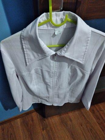 Biała koszula 3/4 rękawa