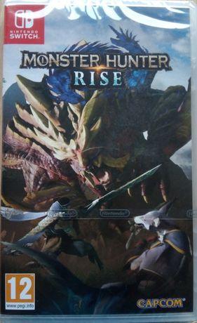 jogo monster hunter rise - nintendo switch