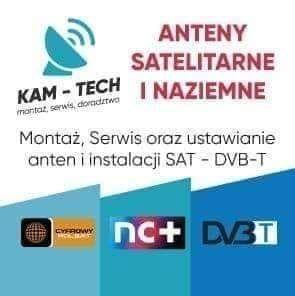 Montaż Anten Kamer Satelit Monitoring Dvbt Ustawienie Serwis