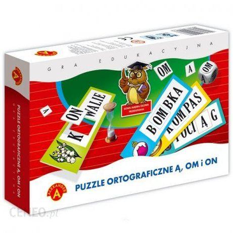 Gra Puzzle Ortograficzne Ą OM I ON Alexander