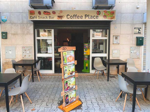 Trespasse de café Snack Bar (NEGOCIAVEL)