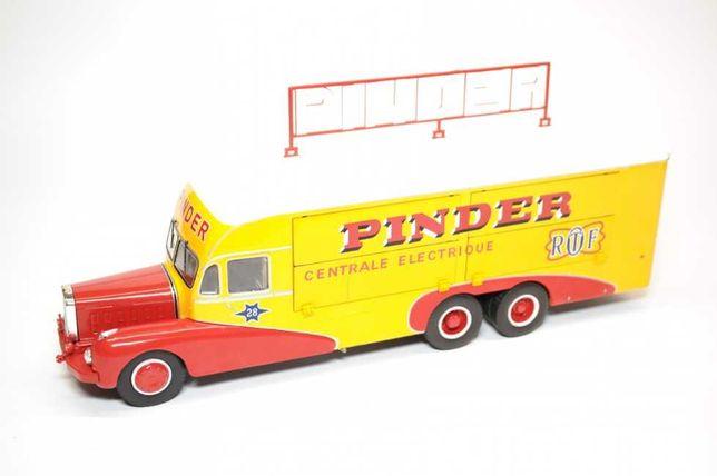 Vendo miniatura de camião do circo Pinder escala 1/43
