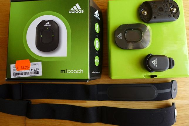 Пульсометр Adidas Micoach Pacer ANT+ , stride sensor, foot pod