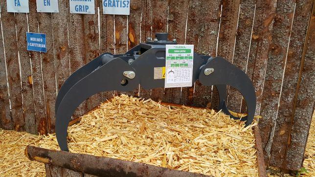 CHWYTAK do drewna 0,20 G2.1 FARMA PRZYCZEPA do Żuraw HDS Dźwig Rotator