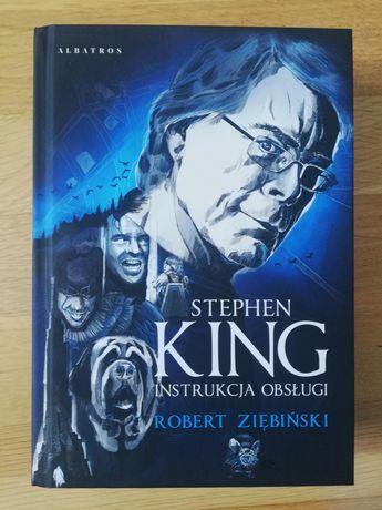 Robert Ziębiński: Stephen King. Instrukcja obsługi. Biografia