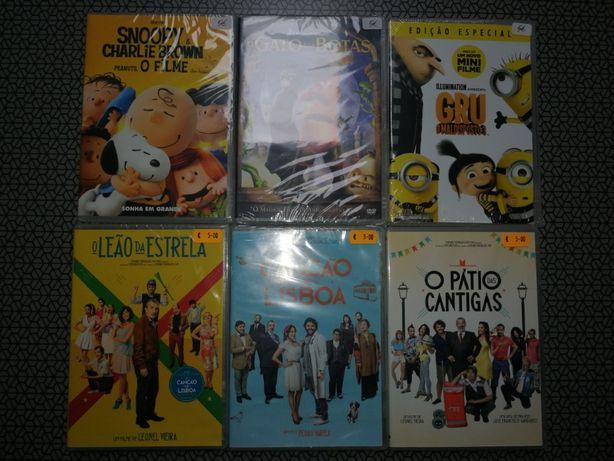 Filmes Dvd Animação e Portugueses.
