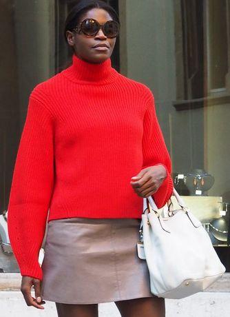 H&M premium sweter Wełna Kaszmir 36 S