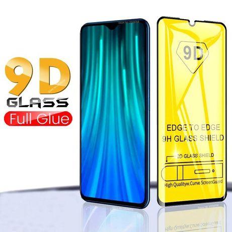 Película Vidro 5D/9D Xiaomi Redmi Note 8 / S2 / Note 8T / Mi Poco M3