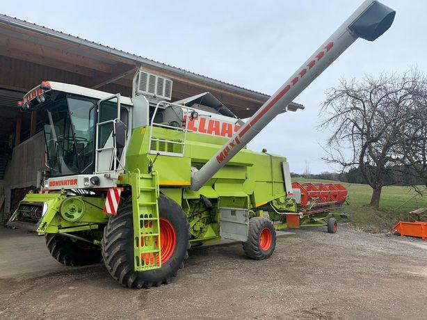 Claas dominator 118 sl maxi 108 przystawka do kukurydzy