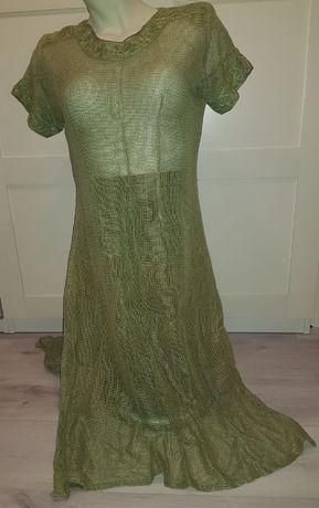 Tunika siateczkowa, sukienka XXL