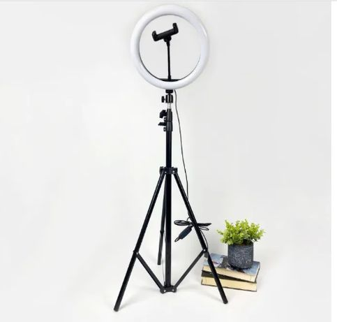 Кольцевая Лампа 32 см!+ ШТАТИВ! LED! Фото!Видео!Качество!Гарантия!ХИТ!