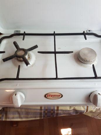 Kuchenka gazowa duw palnikowa Mastercook z reduktorem