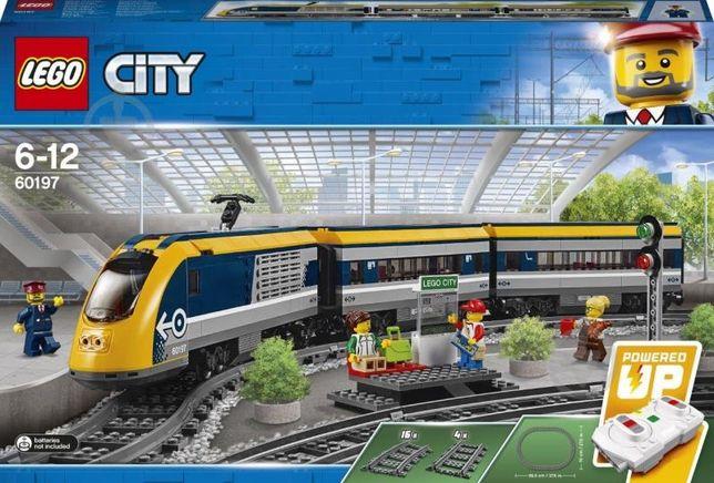 Lego поезд
