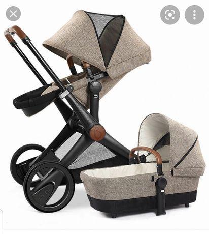 Wózek 3w1 Babysing, wzorowany na Cybex Priam,  gondola, spacerówka