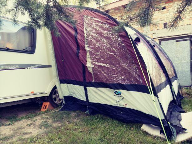 Przedsionek namiot do przyczepy kempingowej