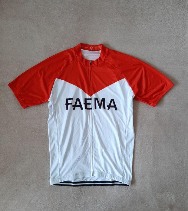 koszulka kolarska rowerowa FAEMA roz. 3XL mtb trail cross bmx Poznań - image 1