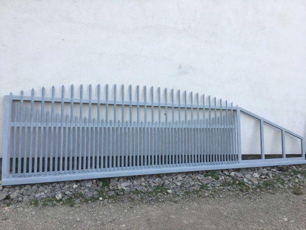 Brama przesuwna 4m używana