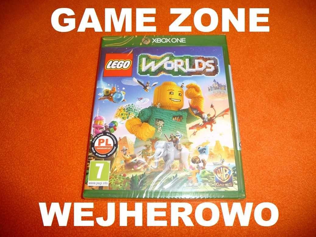 LEGO Worlds Xbox One + S + X = PŁYTA PL Wejherowo / FOLIA