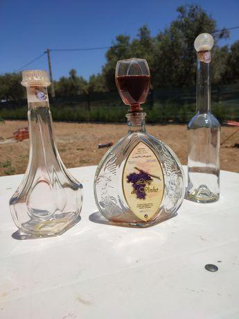 Lindíssimas garrafas de decoração ou mesmo para bebidas