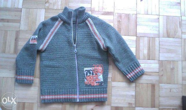 Sweter dla 3 letniego chłopczyka roz 104