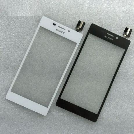 Vidro + Touch para Sony Xperia M2 e M2 Aqua Preto e Branco