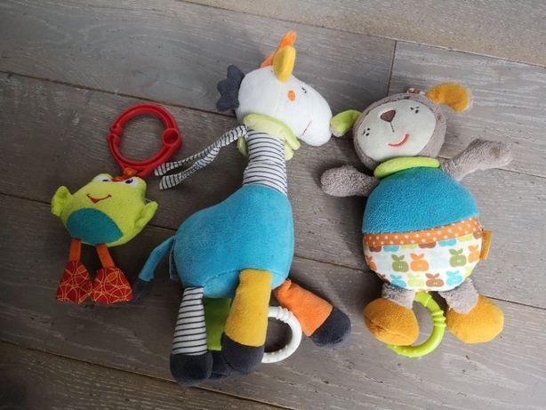 Zabawki do wózka, łóżeczka, muzyczne, sensoryczne, dla niemowlaka