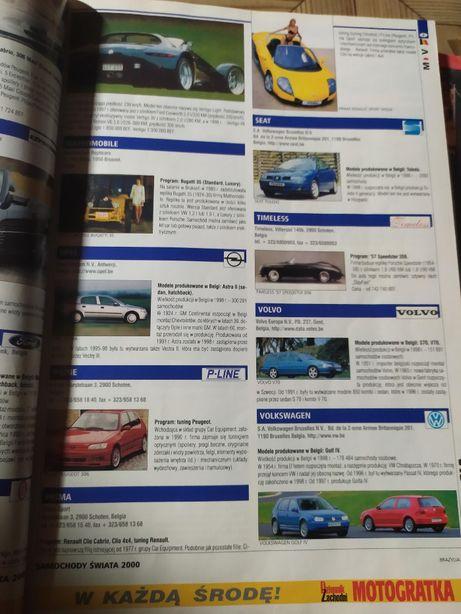 katalog samochody świata 2000