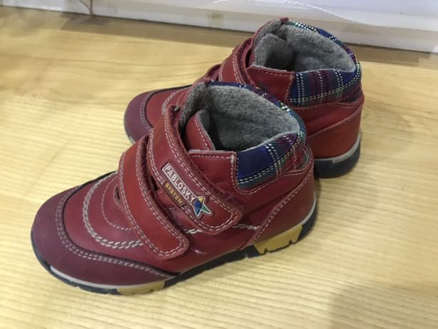 Демисезонные сапоги(ботинки) 25р.Pablosky