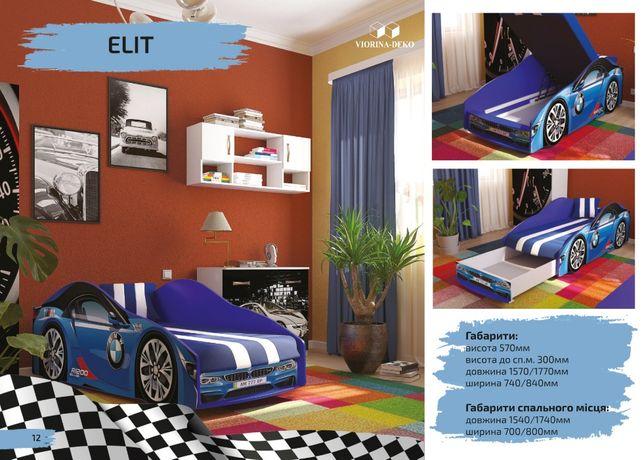 Кровать машина детская кровать для мальчика дитяче ліжко для підлітка