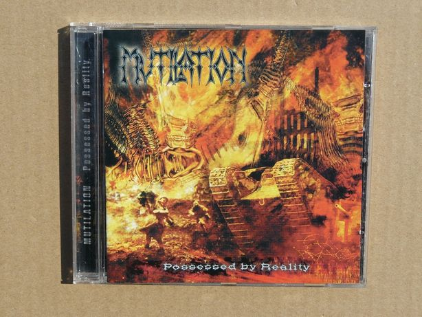 cd Mutilation - Possessed by Reality 2003 Empire Rec. Superstan!!