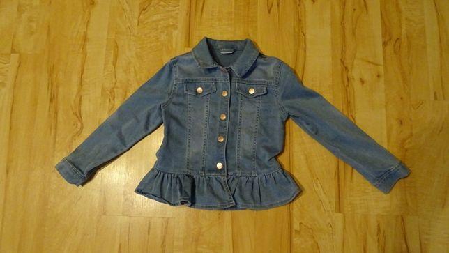 kurtka dziewczęca wiosenna w rozmiarze 116-122