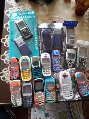 Mam do sprzedania obudowy do starych telefonów