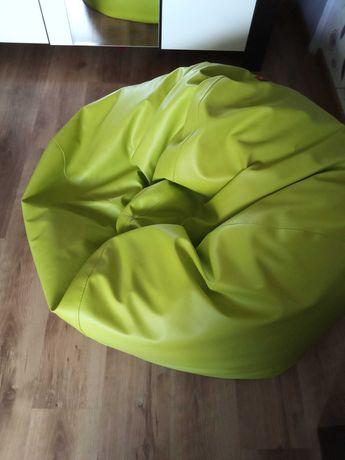 Pufa worek kolor limonkowy