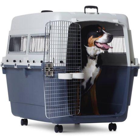 Caixa para transporte de cães de grande porte Savic Andes 8 Extra-Larg