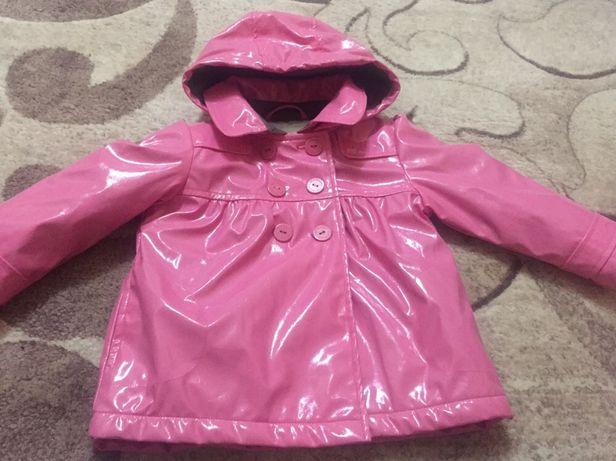 Пальто лаковое для девочки