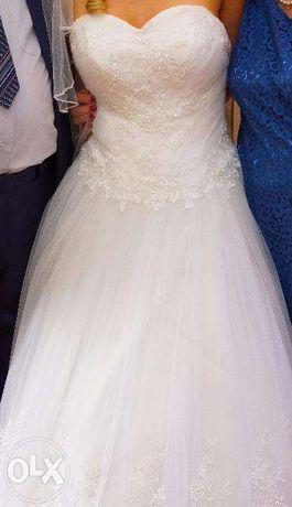 Suknia ślubna constanza MS MODA rozmiar 38