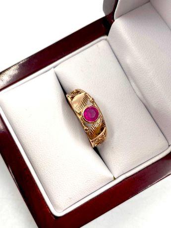 Złoty Pierścionek Pr: 585 Waga: 2,06 G R.16 PLUS LOMBARD