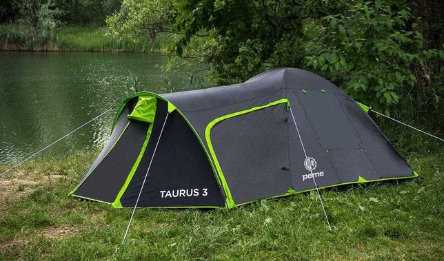 Палатка Peme Taurus 3, трехместная с тамбуром