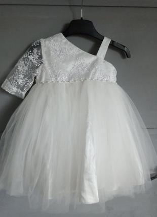 Нарядное платье . шикарное платье. платье на праздник . вышивка. на 1-