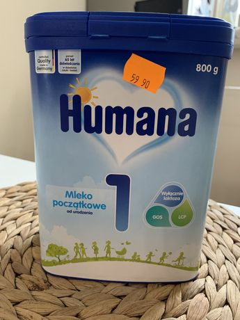 Mleko modyfikowane Humana