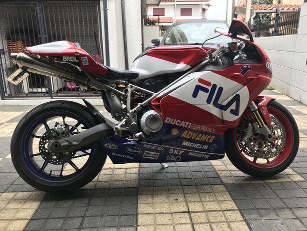 Ducati 999 nova de tudo