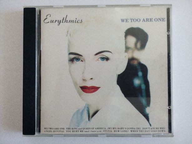 Eurythmics - We Too Are One (CD z 1989r.)