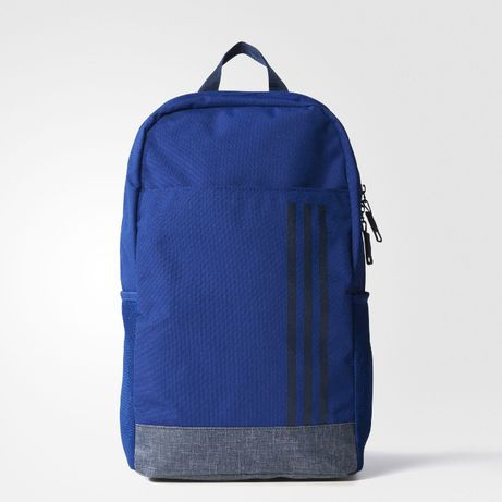 Рюкзак Adidas CLASSIC 3 stripes Navy Backpack Оригинал городской спорт