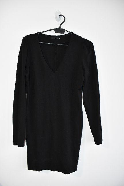 Reserved mała czarna dopasowana klasyczna elegancka sukienka M 10 38