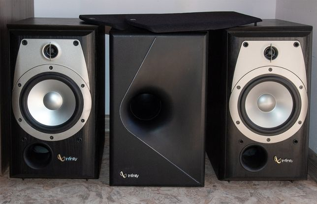 Infinity Alpha 20 + сабвуфер HiFi акустика колонки комплект 2.1