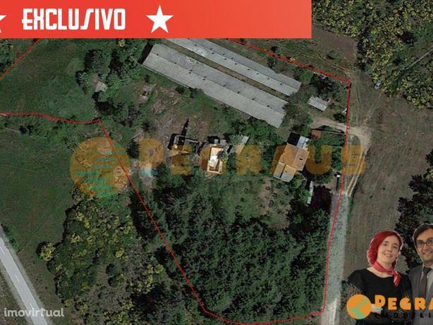 Terreno com Casa de Habitação e Dependências Agrícolas
