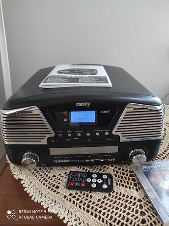 Gramofon Camry CR 1134 USB, SD, winyl, CD nagrywanie, mp3, pilot