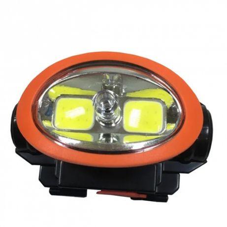 Налобный фонарик+ лазер